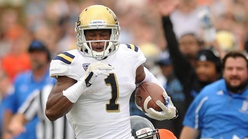 For UCLA's Ishmael Adams, a lost helmet equals lost punt return TD