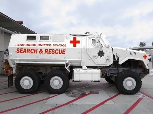San Diego school district to return armored military vehicle - Los Angeles Times