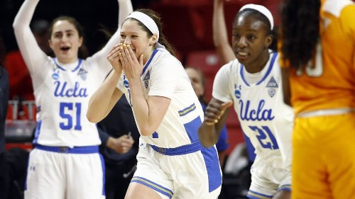 UCLA finding its groove ahead of showdown with Maryland in NCAA tournament