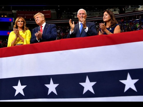 Trump kicks off a new campaign reprising his old themes