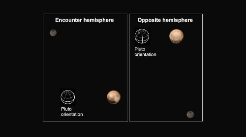 New Horizons spacecraft sees strange black spots on Pluto's equator