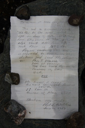 Message in a bottle found 54 years later in Arctic - Los Angeles Times