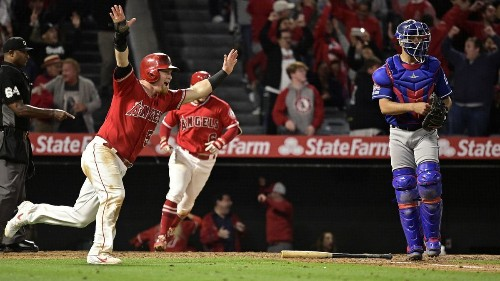 Jared Walsh gives the Angels their first walk-off win this season