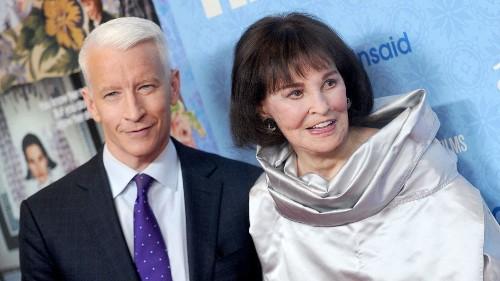 Watch Anderson Cooper's tender tribute to mother Gloria Vanderbilt