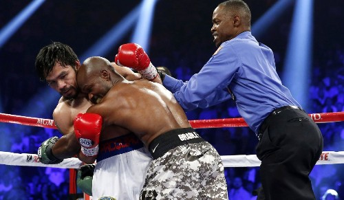 Four people who will play a big role in the Mayweather-Pacquiao fight