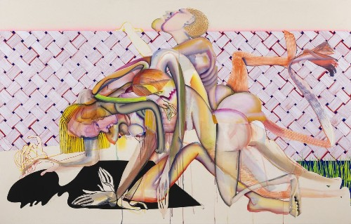 Christina Quarles' paintings blur boundaries and find freedom in the flesh