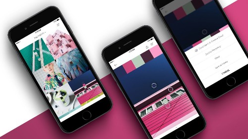 Pantone debuts app to give users access to 10,000 colors and more features