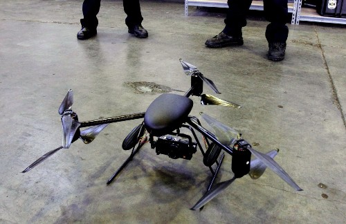 LAPD's two drones under lock-and-key by feds until rules in place - Los Angeles Times