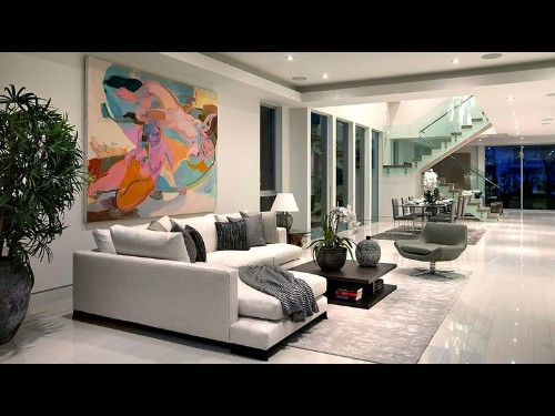 Elite home stagers decorate with gallery, museum art - Los Angeles Times