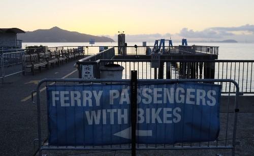 Ferry crashes at San Francisco pier, injuring 10 passengers