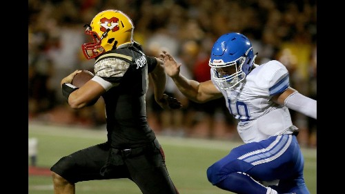 Mission Viejo capitalizes on turnovers to pull away from Norco, 37-13