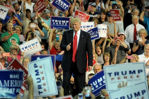 Warning of election fraud, Trump sparks fear that his backers may intimidate minority voters