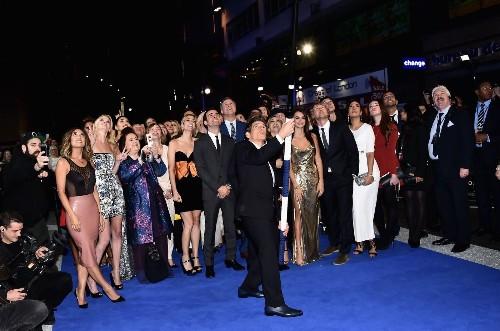 Ben Stiller sets Guinness record for longest selfie stick at 'Zoolander 2' premiere
