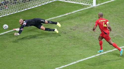 Tim Howard can't save U.S. at World Cup