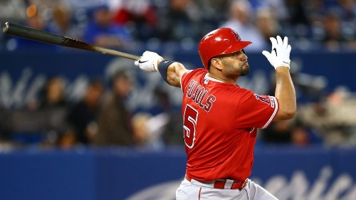 Angels' Albert Pujols excited to play in St. Louis this weekend
