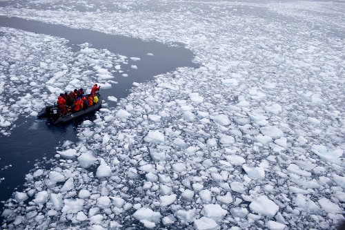 Antarctic ice shelves melting 70% faster, study shows