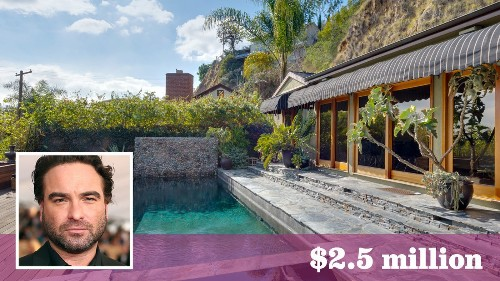 Johnny Galecki of 'Big Bang Theory' sells his Hollywood Hills home for 25% above the asking price - Los Angeles Times