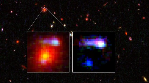 Hubble sees ancient galaxy that acts as enormous magnifying glass