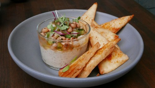 'Everyone loves hummus,' notes one chef. And, as with risotto, kitchens are finding that it makes a lovely base