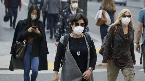 To protect your lungs from wildfire smoke, the mask you wear matters - Los Angeles Times