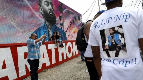 Nipsey Hussle's plan to rebuild South L.A. and fight gentrification lives on at U.S. Capitol