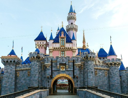 Disneyland's Sleeping Beauty Castle reappears with vibrant colors and pixie dust