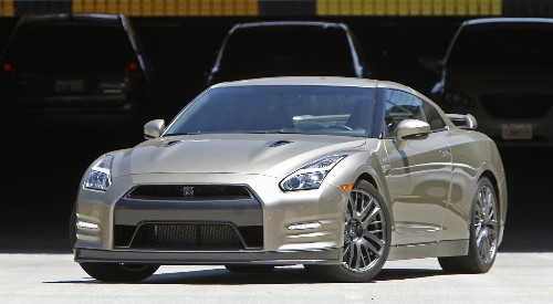 First Drive: The 2015 Nissan GT-R Anniversary Gold Edition - Los Angeles Times