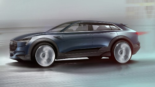 Audi, Mercedes ready challenges to Tesla luxury electric car dominance