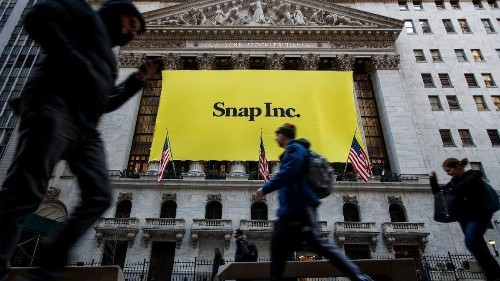 Snap bounces back as Snapchat user numbers grow