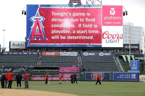 Clubhouses not happy about the postponed series finale between Angels and Twins