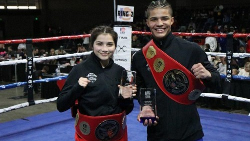 Welterweight prospect Xander Zayas, 16, becomes Top Rank's youngest signee