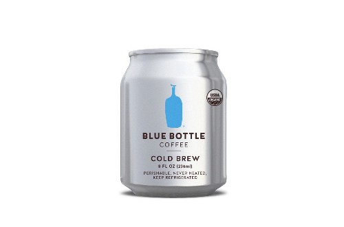 You can soon get your Blue Bottle cold brew coffee fix from a can