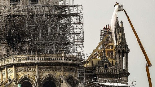 Notre Dame fire was probably caused by electrical short-circuit, police official says
