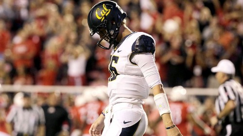 California's Jared Goff is upbeat before facing UCLA