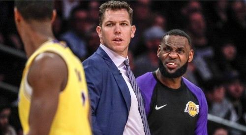 Former Lakers coach Luke Walton might be the big winner in this debacle