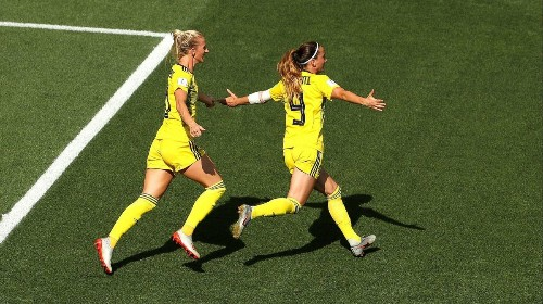 Sweden beats England to take third at Women's World Cup
