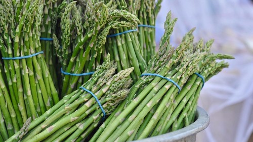 Asparagus is in season. We have recipes