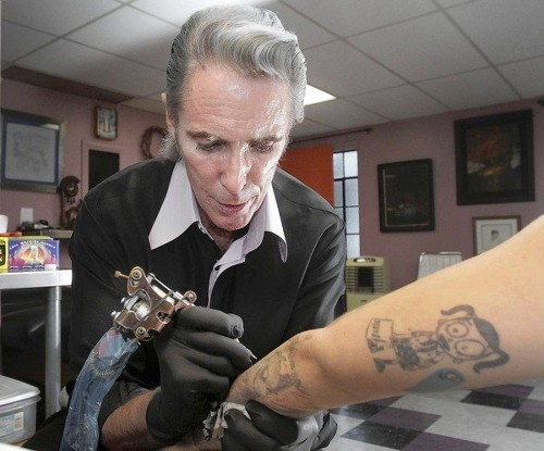 Famed tattoo artist Mark Mahoney is going strong on the Sunset Strip - Los Angeles Times