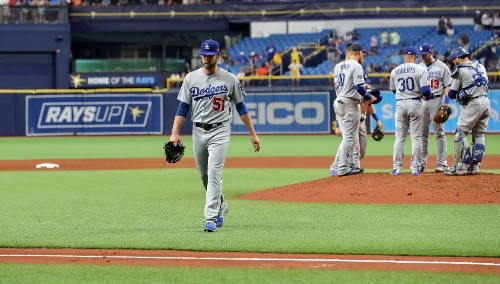 Dylan Floro's worst outing as a Dodger wastes Rich Hill's strong, loud effort against Rays