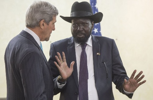 Kerry pushes for 'critical' talks over South Sudan