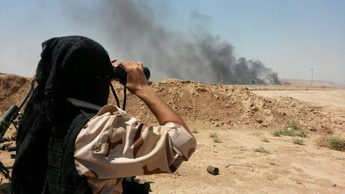 Iraqi forces launch offensive to break Islamic State's siege of Amerli