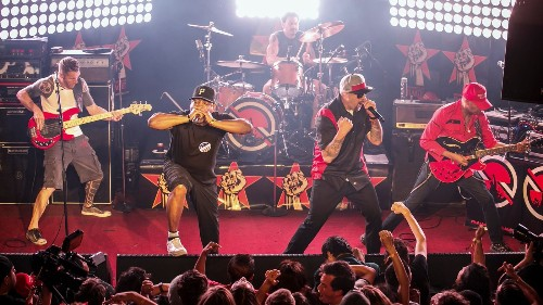 New supergroup Prophets of Rage targets Donald Trump at debut show