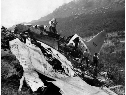 From the Archives: Standard Airlines C-46 crash near Chatsworth