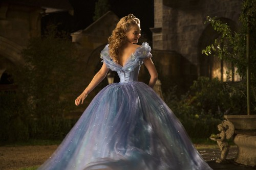 Lily James on 'Cinderella' waist controversy: 'I'm so healthy'