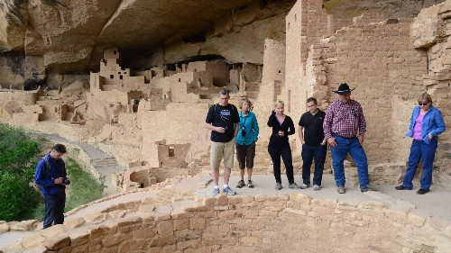 National park tips: the Colorado park where you can climb into history - Los Angeles Times