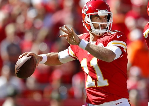 Alex Smith seeks rare 7-0 start with Chiefs against the Texans