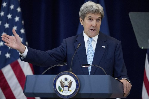 Kerry pushes back on Israeli complaints, calls for revival of peace talks with Palestinians