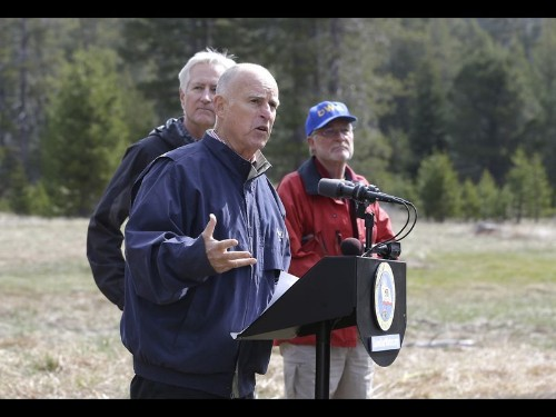 Brown orders California's first mandatory water restrictions: 'It's a different world'