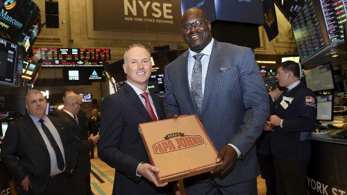 Can Shaquille O'Neal help Papa John's revive its image?