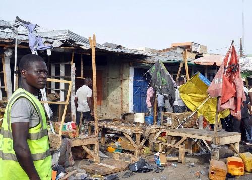 Teenage girl suspected as dozens die in Nigeria suicide attack